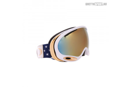 Маска Oakley 2018 A-Frame 2.0 Lindsey Vonn Stars And Stripes 24K Iridium