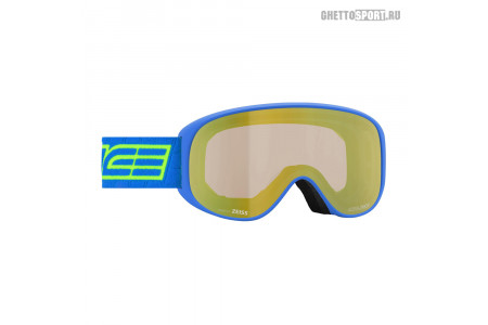 Маска Salice 2020 Darwf 101 Lime Blue Rw Clear