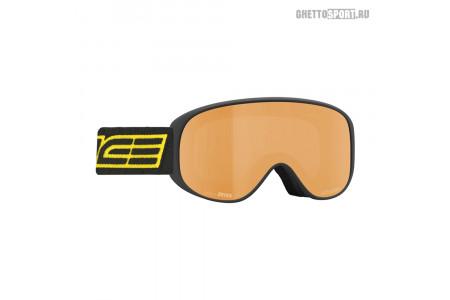 Маска Salice 2020 100Sonar Black/Yellow Lens