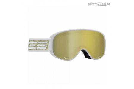 Маска Salice 2020 100Tech White/Gold Lens