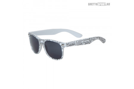 Солнцезащитные очки Mod 2013 Funky Newspaper Smoke Lens