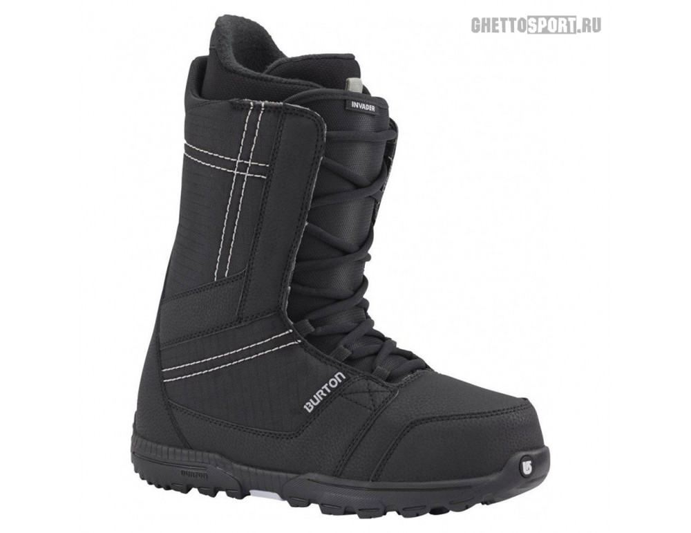 Ботинки Burton 2018 Invader Black 10