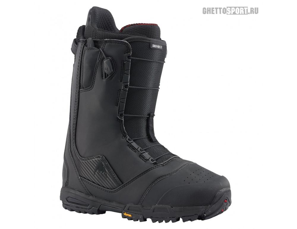 Ботинки Burton 2020 Driver X Black