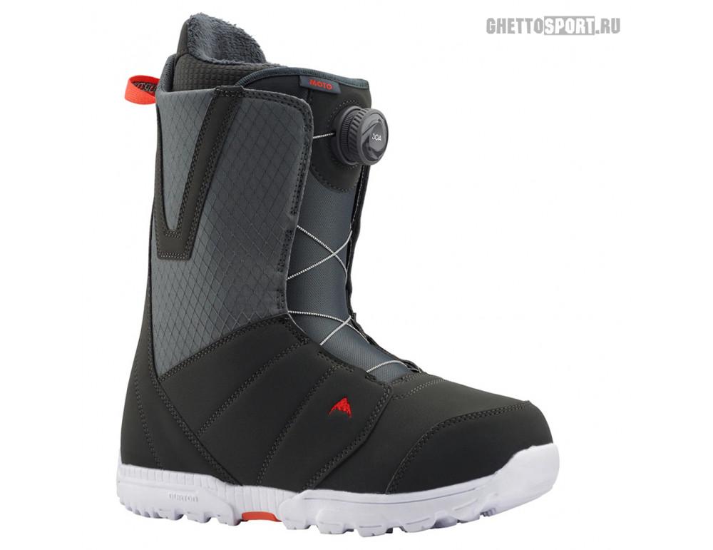 Ботинки Burton 2020 Moto Gray/Red
