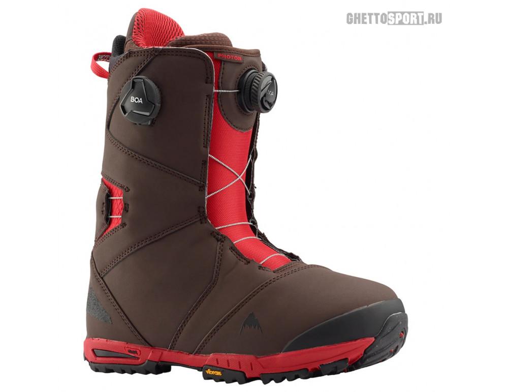 Ботинки Burton 2020 Photon Boa Wide Brown/Red 8