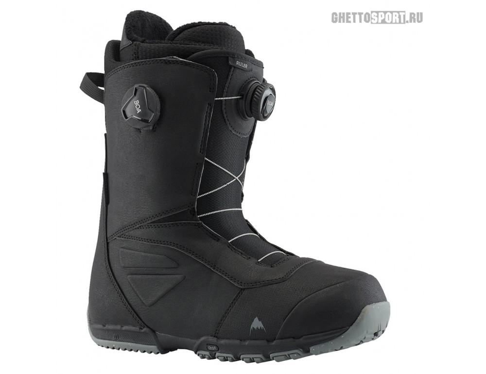 Ботинки Burton 2020 Ruler Boa Black