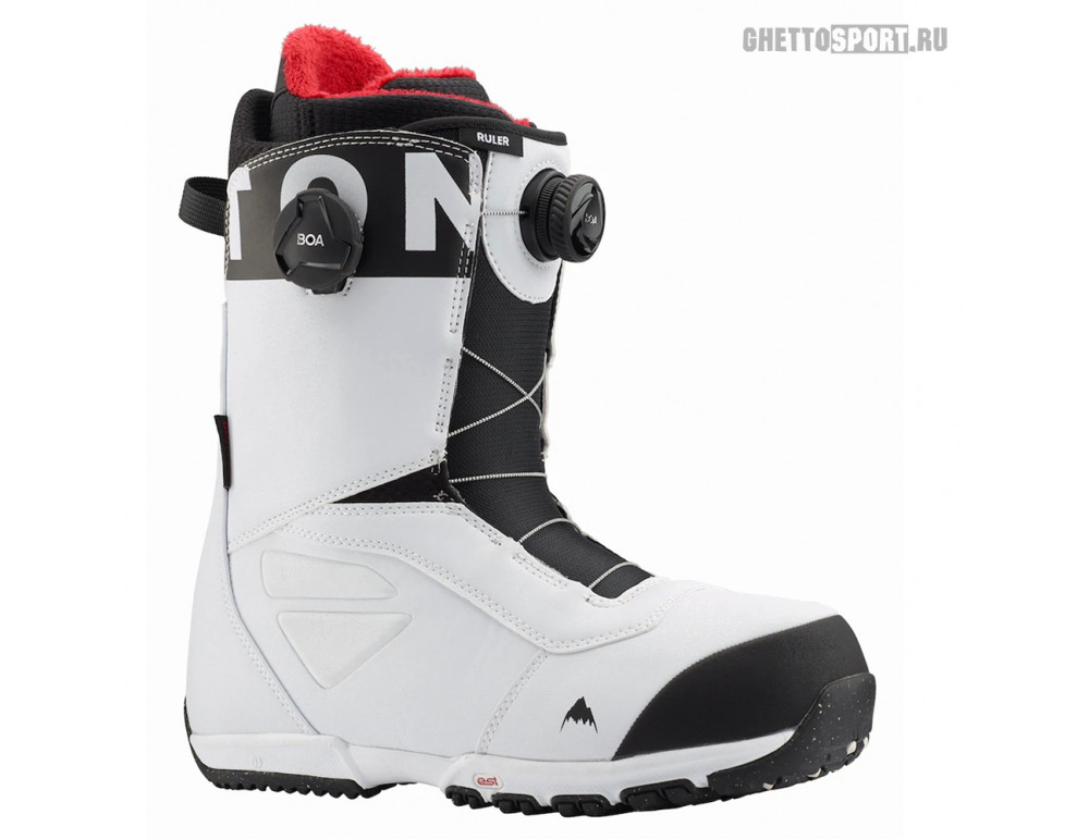 Ботинки Burton 2020 Ruler Boa White/Black