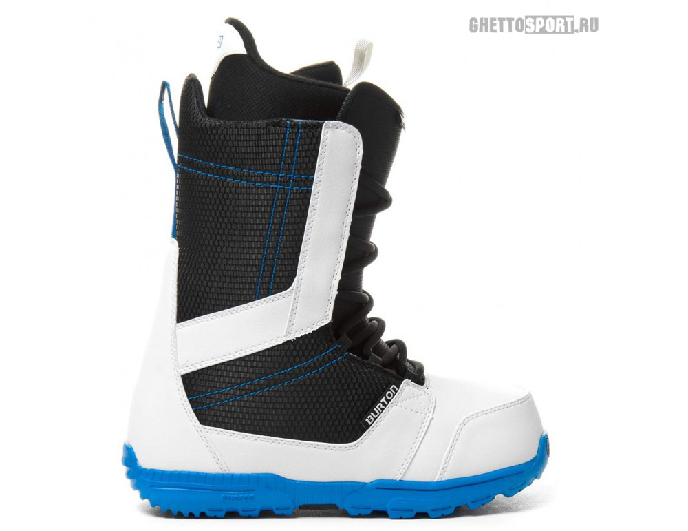 Ботинки Burton 2014 Invader White/Black/Blue 11,5