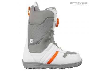 Ботинки Burton 2014 Jet Gray/Orange 11,5