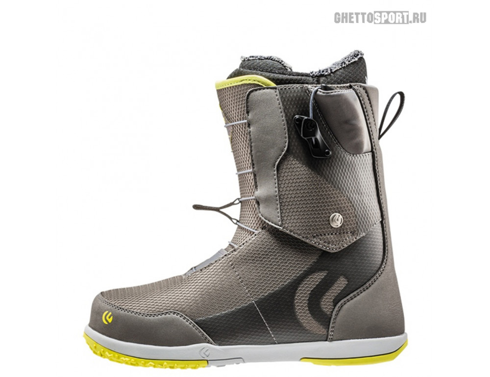 Ботинки Flux 2019 X9 Rys Vr-Speed New Gray/Lime/Yellow 8,5