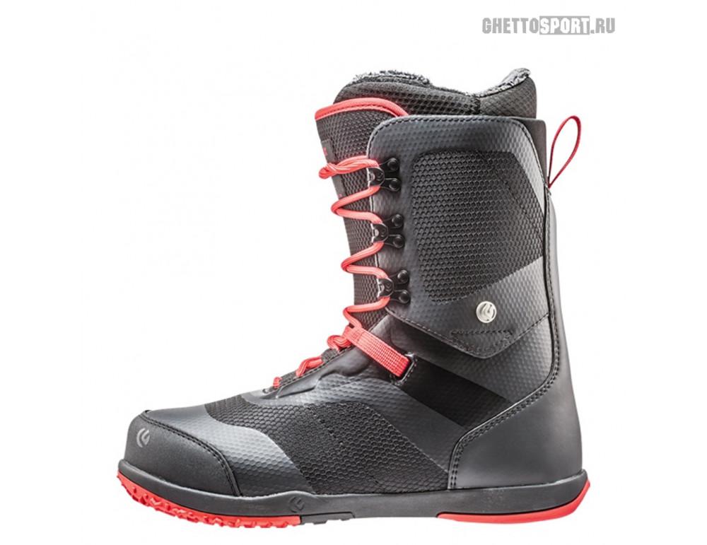 Ботинки Flux 2019 X9 Xrl Tx-Lace Black/Red