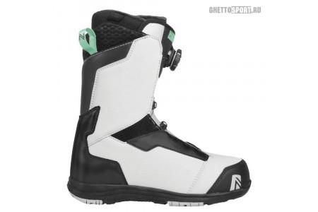 Ботинки Nidecker 2019 Onyx Boa Coil Grey/Aqua