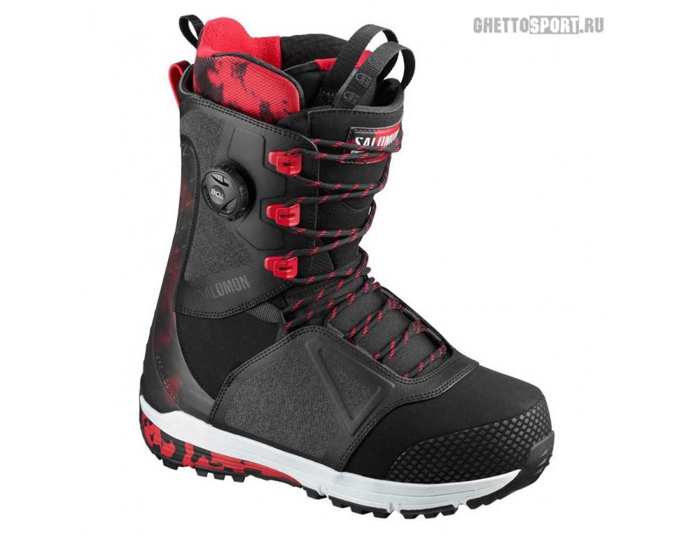 Ботинки Salomon 2020 Lo Fi Black/Tango Red/Beluga 9