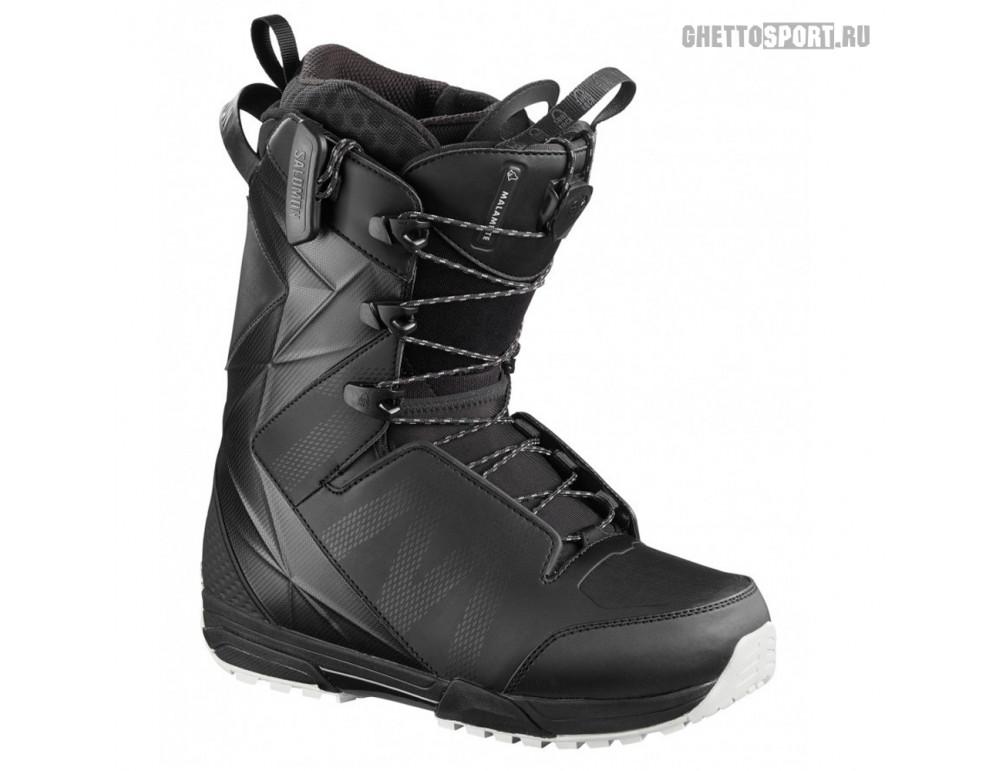 Ботинки Salomon 2020 Malamute Black