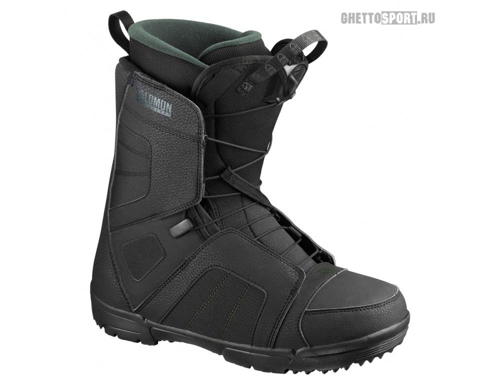 Ботинки Salomon 2020 Titan Black/Green 9