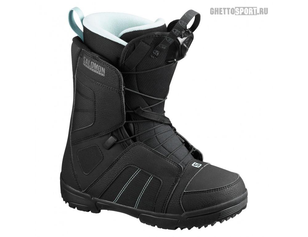 Ботинки Salomon 2021 Scarlet Black/Bk/Sterling B