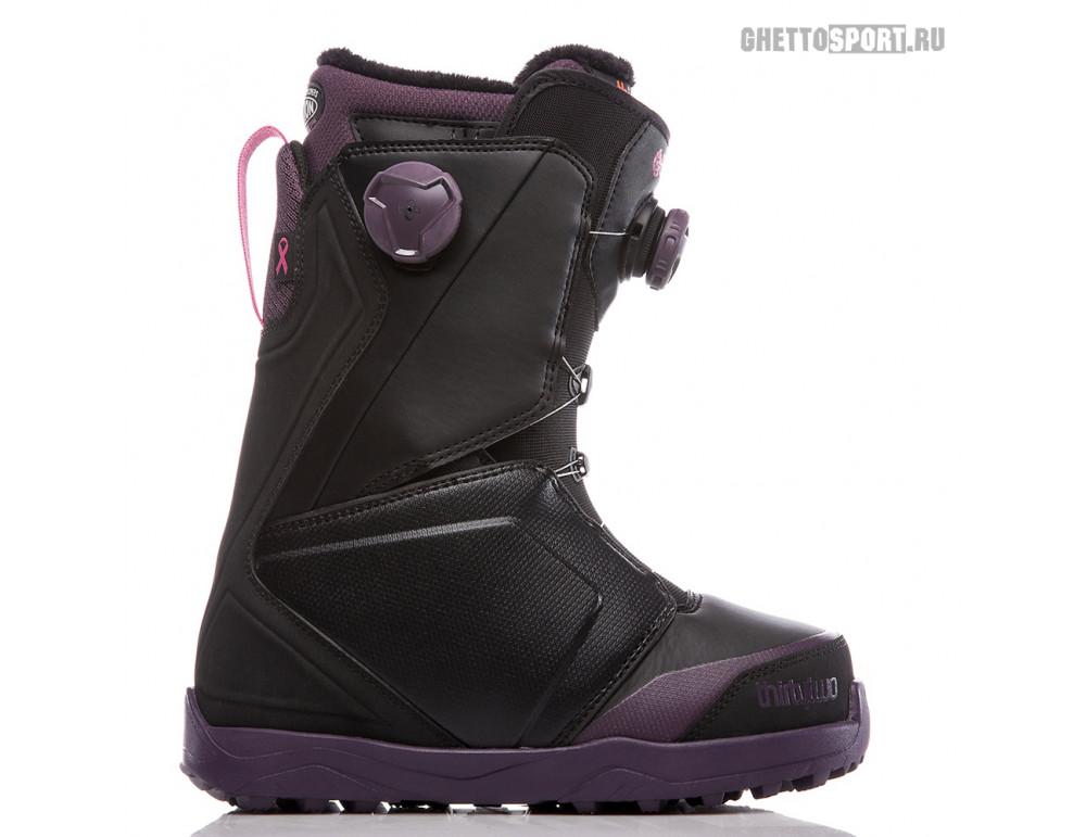 Ботинки Thirty Two 2019 Lashed Double Boa W'S B4BC Black/Purple