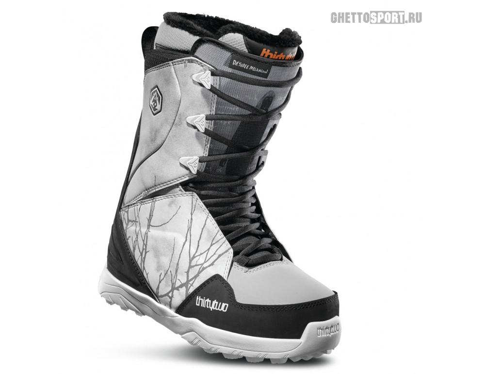 Ботинки Thirty Two 2020 Lashed W'S Melancon Grey/Black/White