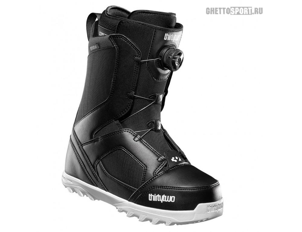 Ботинки Thirty Two 2020 STW Boa Black