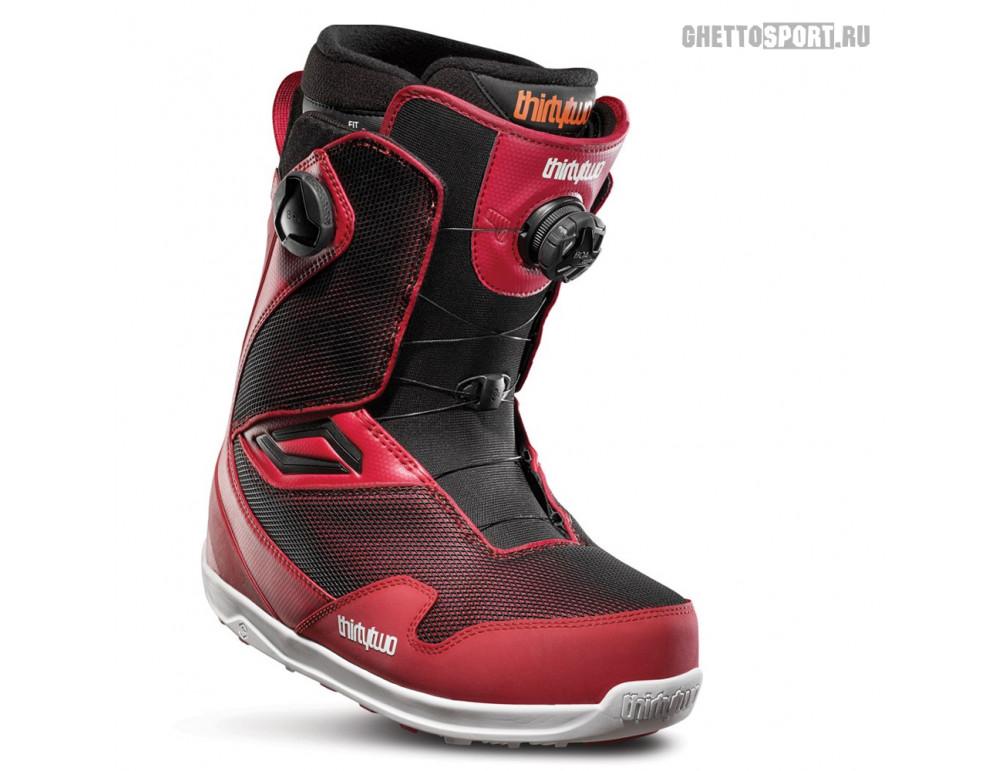 Ботинки Thirty Two 2020 TM-2 Double Boa Red/Black