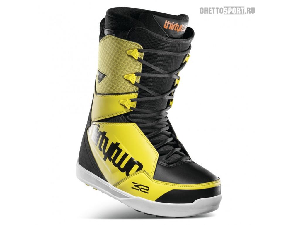 Ботинки Thirty Two 2021 Lashed Black/Yellow