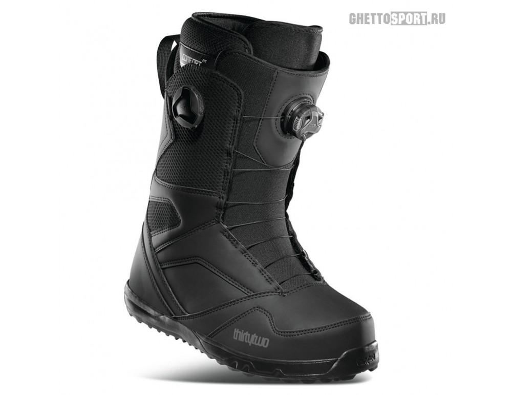 Ботинки Thirty Two 2021 Stw Double Boa Black