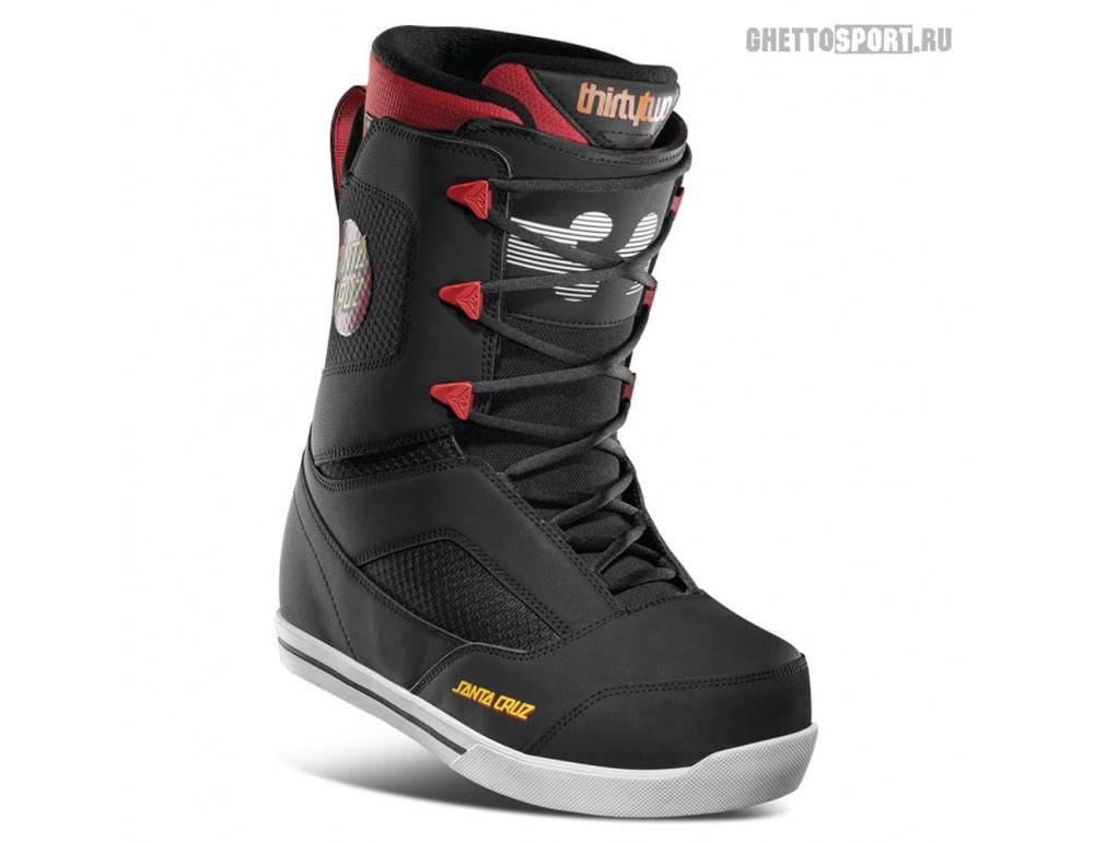 Ботинки Thirty Two 2021 Zephyr Santa Cruz Black/Red
