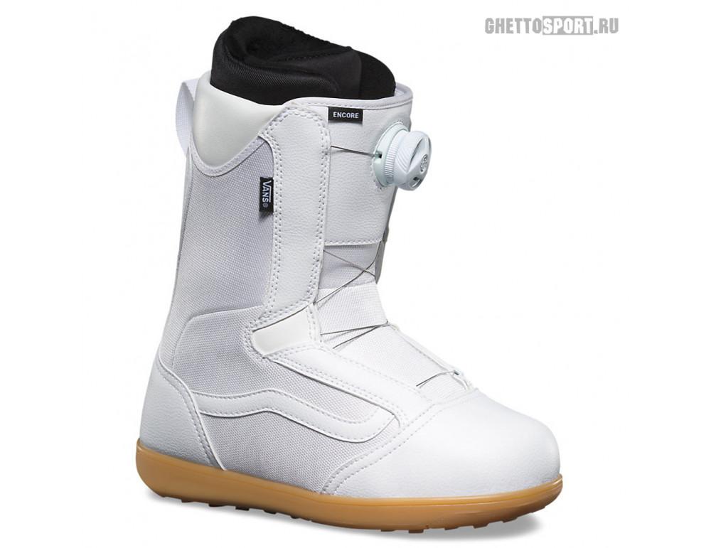 Ботинки Vans 2019 Encore White/Gum