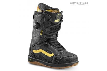 Ботинки Vans 2019 Ferra Pro Black/Yellow 8