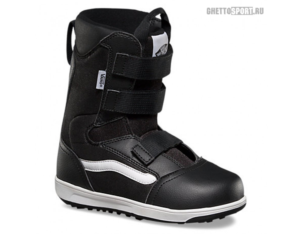 Ботинки Vans 2019 Juvie YT Black/White 2