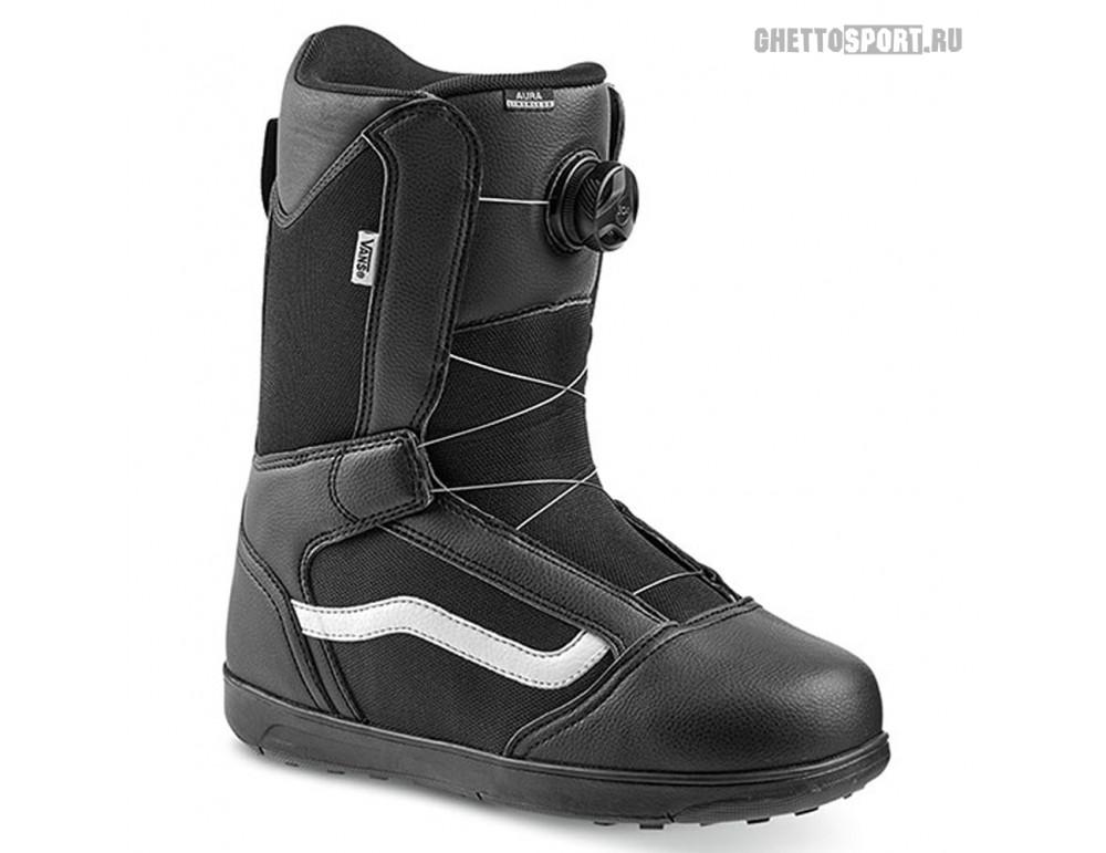 Ботинки Vans 2020 Aura Linerless Black/White 9
