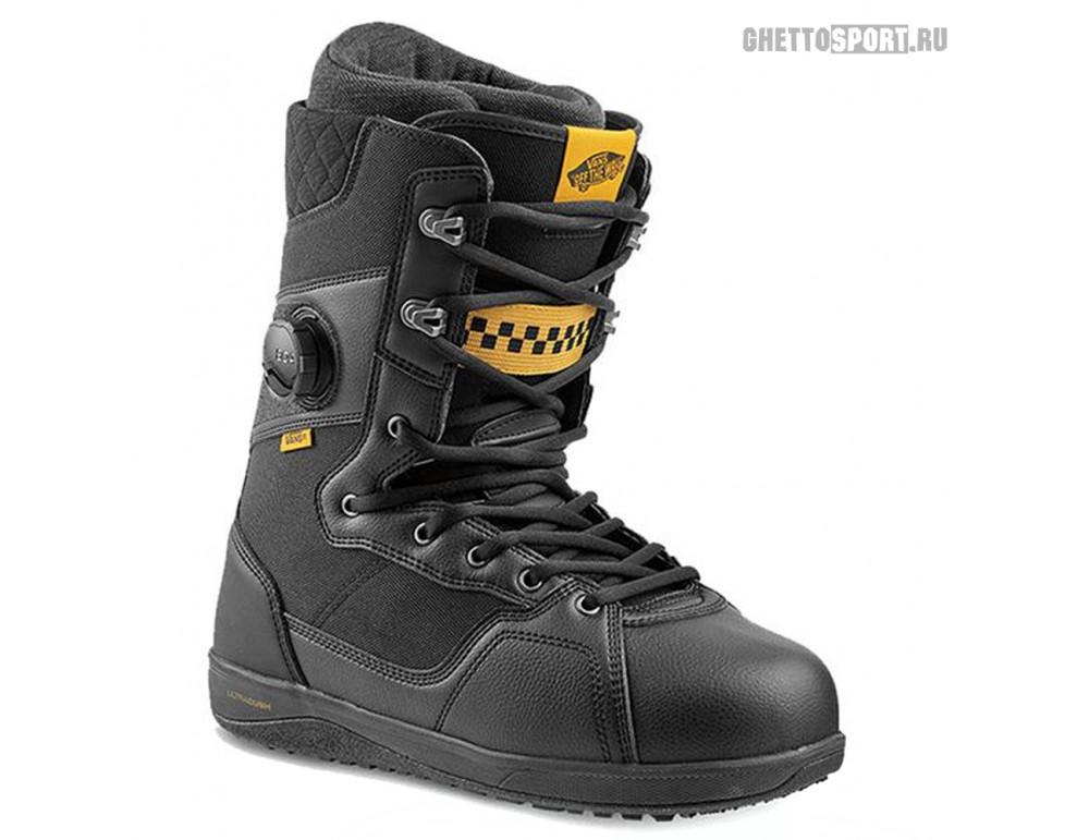 Ботинки Vans 2020 Implant Pro Black/Yellow