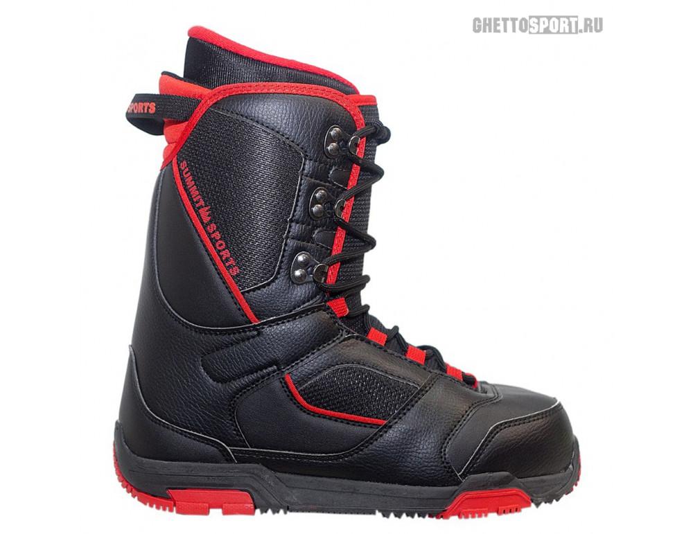 Ботинки Summit 2015 Freestyle Black/Red