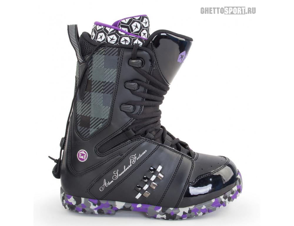 Ботинки Atom 2013 Bad Boy Black/Purple