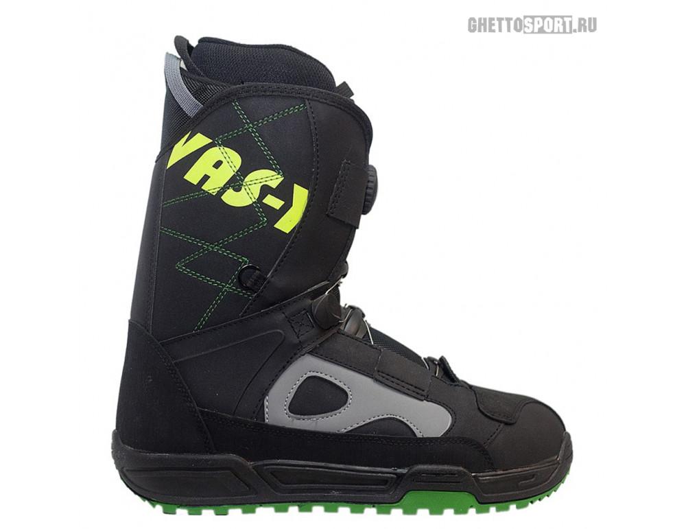 Ботинки Vas-Y 2015 Black Boots Boa Grey 9