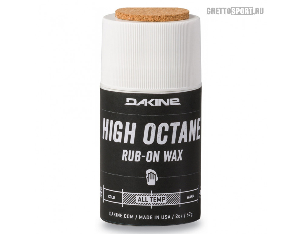 Вакса ускоряющая Dakine 2021 High Octane Rub On Wax (2 Oz) Assorted