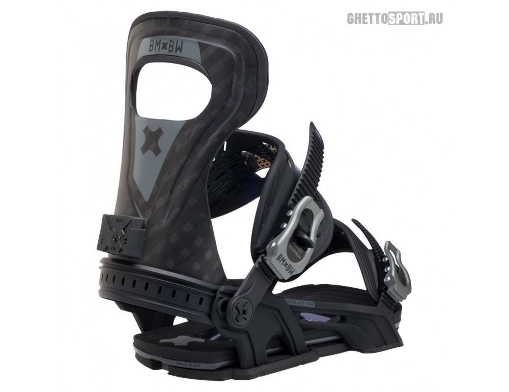 Крепления Bent Metal 2021 Solution Black