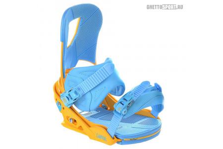 Крепления Burton 2015 Cartel Blue/Yellow M