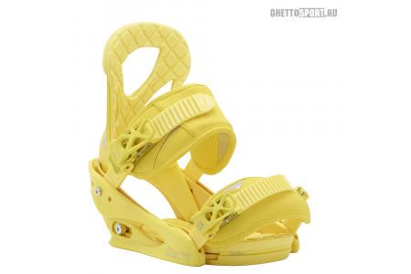 Крепления Burton 2015 Stiletto Yellow L