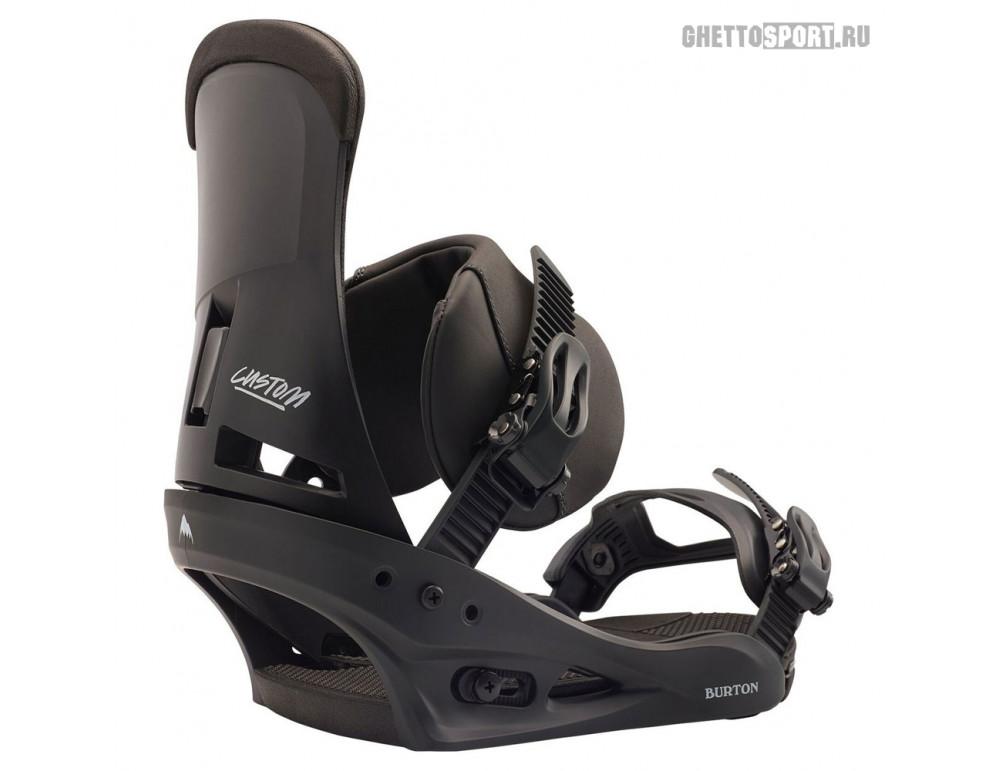 Крепления Burton 2020 Custom Black