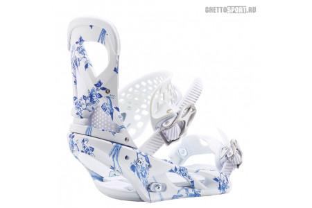 Крепления Burton 2020 Lexa Delft Blue M