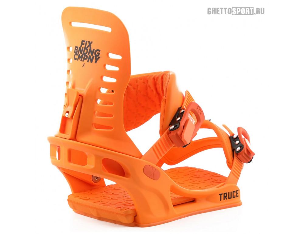 Крепления FIX 2019 Truce Neon Orange