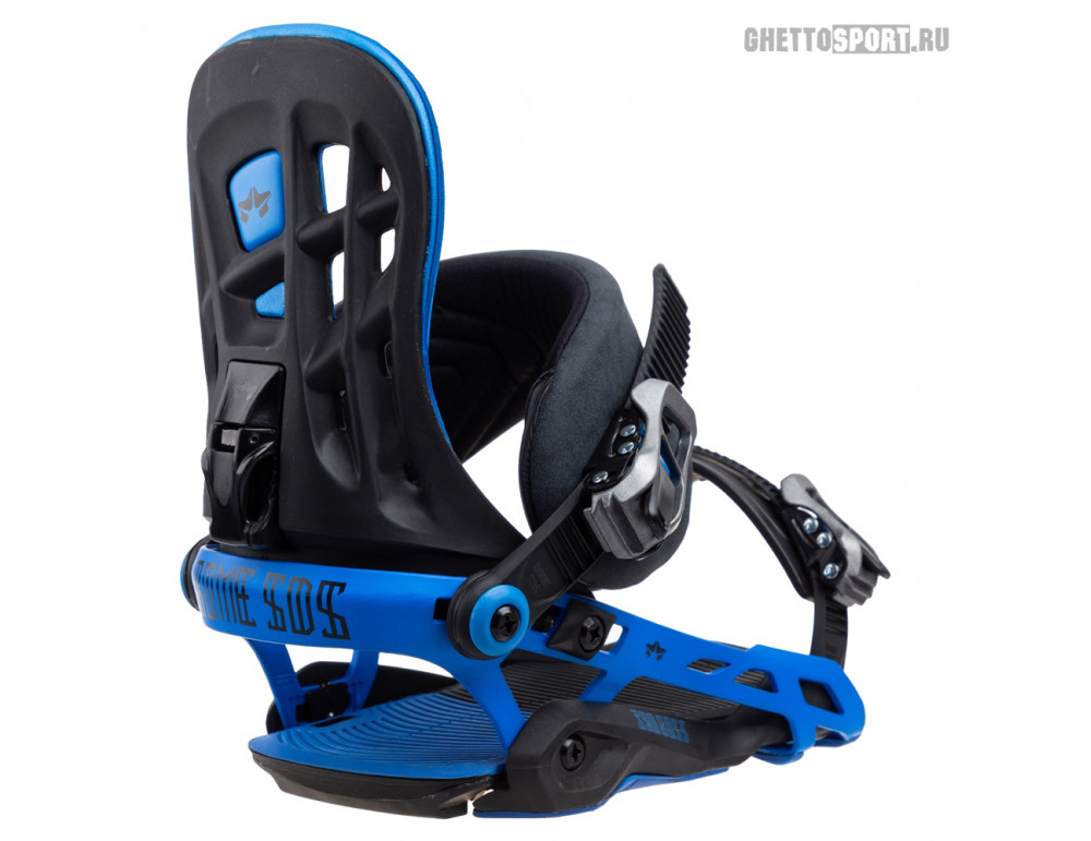 Крепления Rome 2019 390 Boss G2 Black/Blue S/M