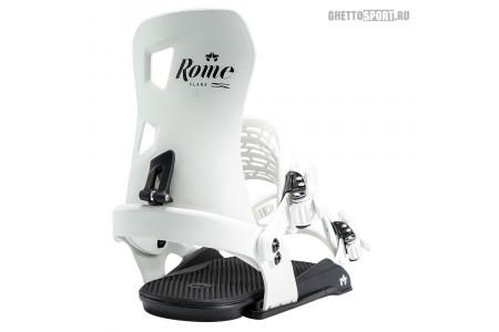 Крепления Rome 2020 D.O.D. White Logo