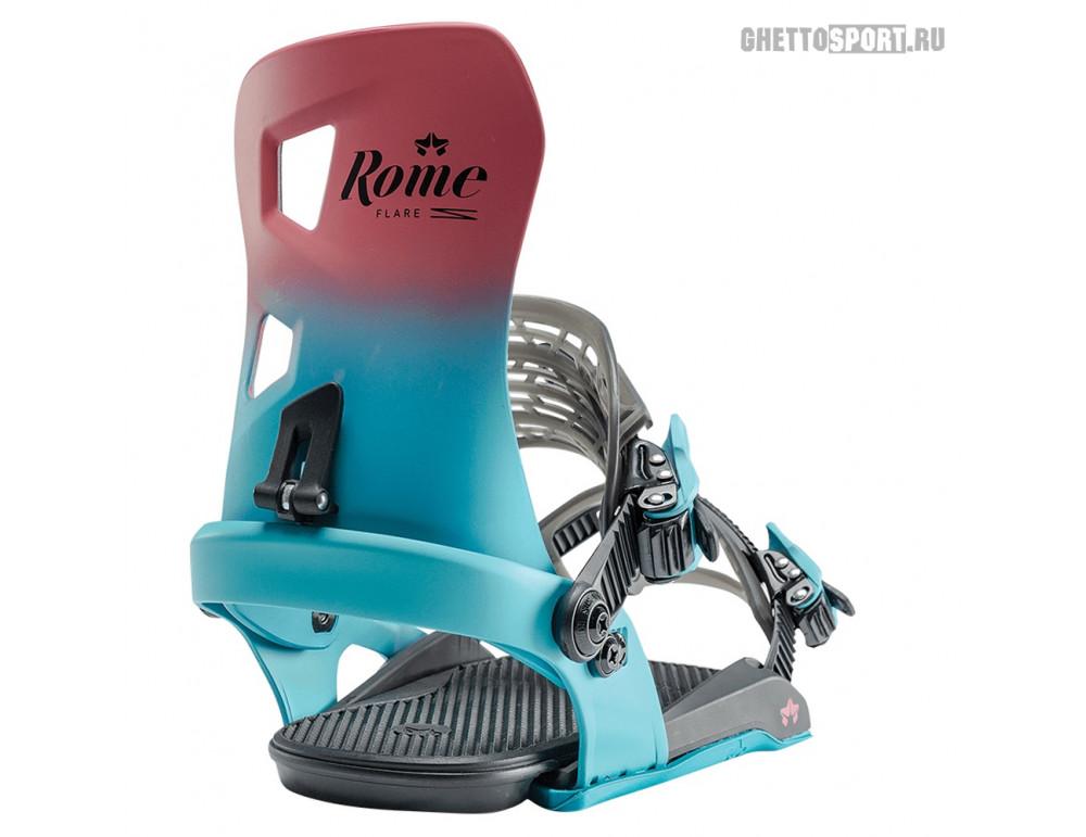 Крепления Rome 2020 Flare Berry Fade S