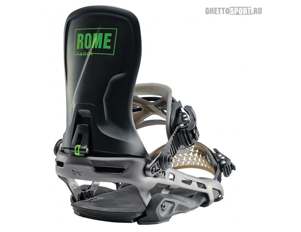 Крепления Rome 2020 Targa Black