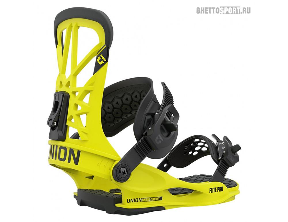 Крепления Union 2021 Flite Pro Hazard Yellow