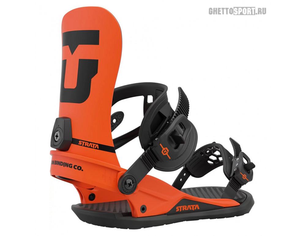 Крепления Union 2021 Strata (Team Hb) Union Orange