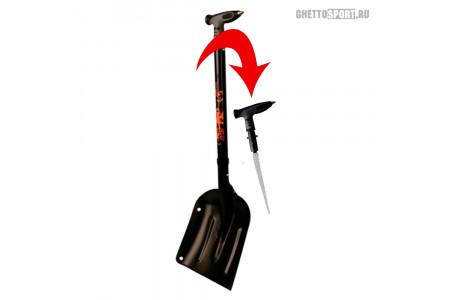 Лавинная лопата и пила Demon 2020 Escape Shovel Ally W/ Saw In Handle Black DS9432