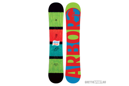 Сноуборд Arbor 2013 Draft Rasta Fsc Plyw Brown 158